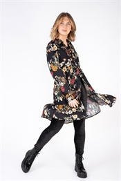 Bild på Marcella Shirt Dress Black/Honey/Rose